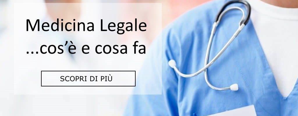 medicina legale cosa fa