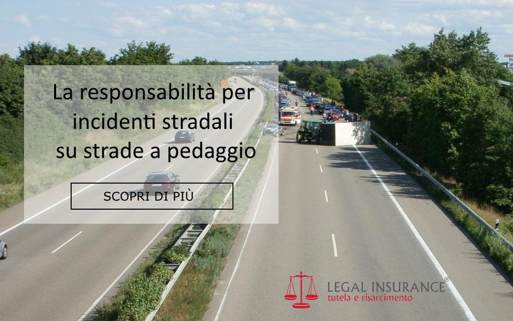 responsabilità su strade a pedaggio