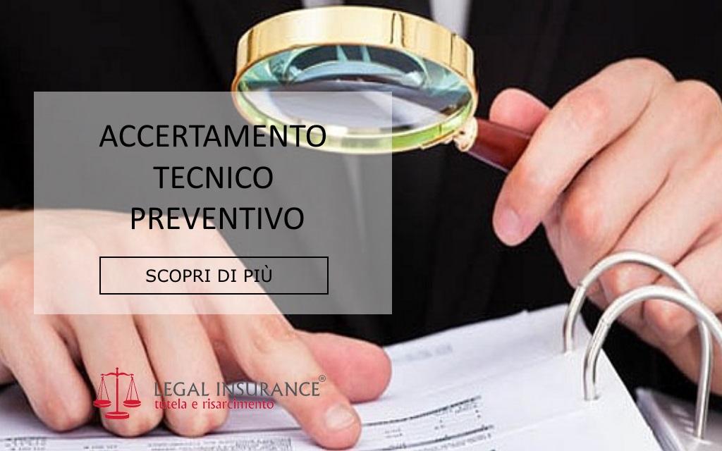 accertamento tecnico preventivo